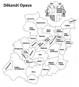 Mapa děkanátu